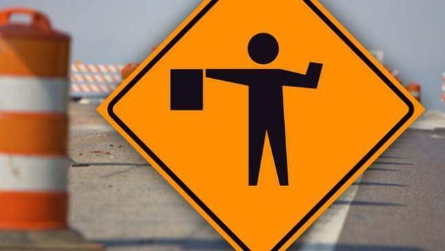 Lane Restrictions:  Delwar Road