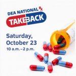 DEA National Rx Take Back – 2021